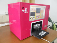 Wholesale New Arrival Digital Touch Sreen Nail printer with PC for printing patterns on fingers nails with via DHL