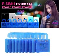Wholesale R SIM RSIM11 r sim11 rsim unlock card for iPhone plus iOS7 ios ios10CDMA GSM WCDMA SB AU SPRINT G G