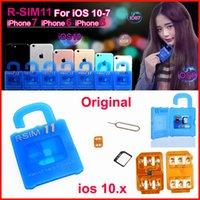Wholesale Newest RSIM11 R SIM r sim11 rsim unlock for ios7 x iPhone plus CDMA GSM WCDMA SB AU SPRINT G G iOS