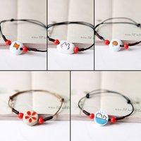 Wholesale The blue song Jingdezhen ceramic bracelet Handmade small jewelry Ruili contracted a variety of options