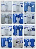 Remise Kansas City Royals Jersey Femmes 6 Lorenzo Cain Maillot 8 Mike Moustakas 13 Salvador Perez 35 Eric Hosmer Mailles Costume Jersey