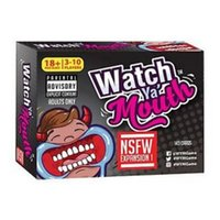 adult mouth guard - Watch Ya Mouth Speak Out Game Adult Phrase Card Game Expansion Pack Funny Family Party Christmas Board Game Mouthopeners Mouth Guard D391