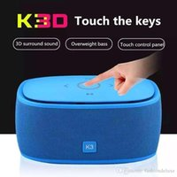 best portable speakers for bass - Bluetooth Speakers Super Deep Bass Portable Wireless Subwoofer K3 Best Quality Handsfree Calling TF Card FM for iPhone Plus MP3 Player K3