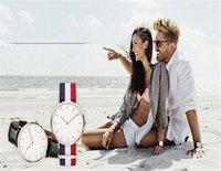 Precio de Gifts-De Lujo De Marca DW Reloj De Moda De Estilo Nylon Correa Militar De Cuarzo Daniel Reloj Hombres De Mujer Unisex Chirstmas Wellington Regalo Relojes