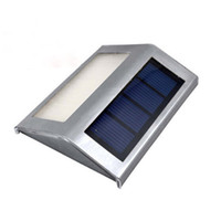 Wholesale Waterproof LED Solar Light Lamps Solar Led Flood Lights Leds Garden Lights Outdoor Landscape Lawn Lamp Solar Wall Lamps