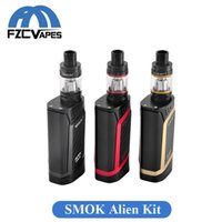 advance kit - Original SMOK Alien W Kit E Cigarette Advanced Vaper Starter Kit Temperature Control Box Mod with Top Refilling