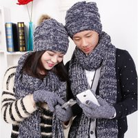 Wholesale fashion accessories hats scarves gloves scarf hat and glove sets beautiful fashion excellent balisha good quality women girls silk all style