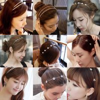 Wholesale South Korea crystal hair band Fashion beautiful A variety of styles In the hot sales