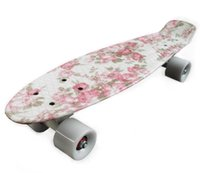Wholesale 22 quot long Skate boards Retro Mini Skate long board cruiser long skateboard complete skates Drift Board