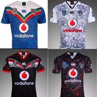Wholesale 2016 Auckland Warriors rugby jerseys top quality colorful men rugby shirts NZ Warriors shirts