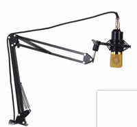 Wholesale 2017 New Mic Microphone Suspension Boom Scissor Arm Stand Holder For Mounting On PC Laptop Notebook