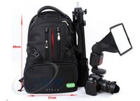 Wholesale Professional high end SLR camera bag leaf rice backpack for Canon Nikon Good New Fashion Outside TNT