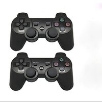 Wholesale bluetooth wireless gamepad shock games controller for PS3 for Sony Play station Joystick for Video Games Controller