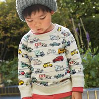 Wholesale made in China new outerwear coats boys hoodies sweatershirts high quality hoody pony cartoon children cloth tops pullover sweater