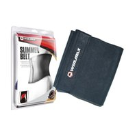Wholesale WINMAX Neoprene Slimmer Belt Adjutable Waist Trainning Belt One Size fits All Protective Black Slimming Belt With Magic Tape