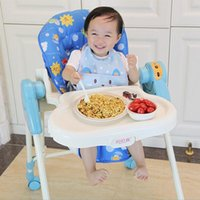Wholesale Hot Baby Feeding Seat Kids Multifunction Booster Highchair Wheels Rocking Chair Infants Dining Chair Safety Sleeping Eat Chair VT0448