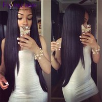 beautiful indian remy - Malaysian Peruvian Indian Silky Brazilian Straight Hair Weave Extensions Top Quality Beautiful Braiding Hair Weaving Straight Hair Bundles