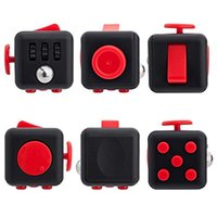 Wholesale Fidget Cube Relieves Stress And Anxiety for Children and Adults Anxiety Attention Toy Party Game Favor DEC182