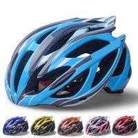 Wholesale New Sport Bicycle Helmets Ultralight Unisex Breathable Mountain Road Bike Helmet Night Light Cycling Helmet