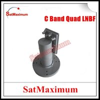 Wholesale High quality Low noise Digital ready C band dual polarity quad output LNBF