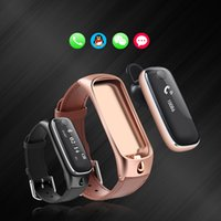 Wholesale 2016 TTLIFE M6 Smart Watch Bracelet Sports Smartband Bluetooth Headsets Sleep Monitor Fitness Tracker for IOS Android Phone