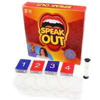 Wholesale Speak Out Game Family Gift Party Board Game Christmas Gift