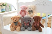 teddies d'anniversaire pour filles achat en gros de-Child Bear Teddy Bear Leader Enfant Peluches Toy Girl Birthday Gift Vente en gros Teddy Bear jouet cadeau fille cadeau