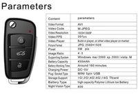 HD 1080P S820 Cámara de la llave del coche del espía con la visión nocturna del IR Detección del movimiento Mini DV DVR para el registrador video ocultado de la cámara de Audi Keychain