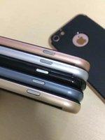 apple skin fiber - Fashion Bumper Frame Armor Hybrid Carbon Fiber Case For Iphone Plus Iphone7 P Vertical Hard Plastic PC Layer Dual Skin Covers