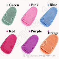 Wholesale New Arrival colors SPA Shower Bath Gloves Scrubber Beauty Wash Gloves Unisex Bath Towel Bath Gloves CCA5410