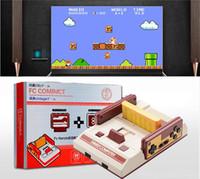 Acheter Out jaune-Console de jeux vidéo RS-35 FC Red White Classique Famille Game Machine Consoles de jeux TV Jaune Card Plug-in Card Jeux Juego