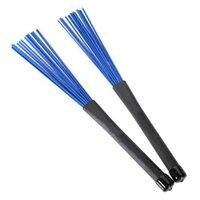 Wholesale Generic Pair Rock Jazz Drum Sticks Nylon Brushes cm Retractable Portable