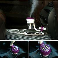 air cars for sale - Car II Nanum Car Humidifier Dual USB Air Cleaning Car Charger Adapter Portable Humidifiers Mini Air Mist Diffuser Purifier For Sales