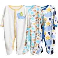 baby rib fabric - baby winter romper Long Sleeve rib fabric for newborn baby to M package is printing is Embroidery patterns