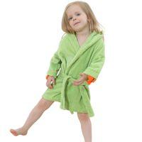beautiful nightgowns - IDGIRL Cartoon Animal Beautiful Dinosaur Style Hooded Bathrobe Baby Towel Girls Clothing Pajamas JY0245