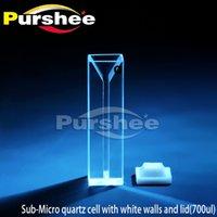 Wholesale Micro quartz cuvette with lid ul