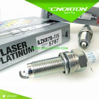 Wholesale Set New brand NGK Laser Iridium spark plug ILZKR7B S ILZKR7B11S Made in Japan pilot