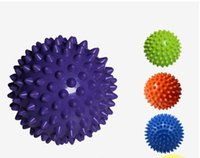 Wholesale Fitness massage ball training to strengthen the plantar fascia thickening massage ball hedgehog sports fitness ball deep muscle relaxation h
