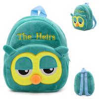 Wholesale Children Bags School Backpacks Plush Shoulder Bags Satchel Boys Grils Cute Cartoon Anime Animals Hand Bags Kids Schoolbag Christmas Gift