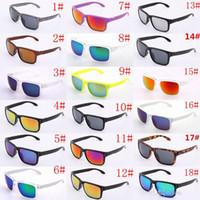 Wholesale 10pcs holbrook SunGlasses For Men Summer Shade UV400 Protection Sport Sunglasses Men Sun glasses Colors Hot Selling