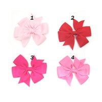 Wholesale European and American children headdress headdress flower swallowtail butterfly knot baby baby girl hair clip barrette