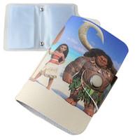 beautiful figure women - Card ID Holders Cartoon Moana and Maui beautiful figure card package type card card package for men and women