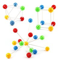 Wholesale Baby Education Toys Magic Toys D Beads Include Ball Early Learning Toys kids DIY Inserted Beads Toys