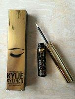Wholesale Kylie Jenner Birthday Edition Kylie Eyeliner Black Waterproof KYLINER Kylie Eye Pencil Cosmetics with