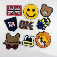 baby biker - 10pcs Cute Jacket Patch For Clothing Sewing Patches Baby Jeans parches ropa Embroidered Fabric Patchwork Blouse Dress Biker Badge Appliques