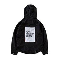 Wholesale 2016Nwe Mens windbreaker couple original tide brand men s jacket hip hop Street West Coast