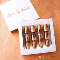 Wholesale New KOKO KOLLECTION gold birthday limited makeup set KYLIE Liquid matte lipstick Kollection by Kylie cosmetics