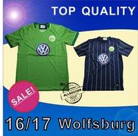 Wholesale New Arrival Wolfsburg soccer jerseys soccer Shirts camisetas de futbol Wolfsburg home and away Jersey SOCCER WEAR