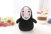 bamboo animations - 2016 Hot sale product Hayao Miyazaki animation spirited away no face male lovely doll cartoon no Yan bamboo bag car accessories