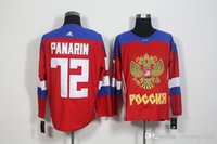 72 Jerseys ruso 2016 de Panarin El envío libre de la gota de JerseysFree del NHL del hielo del hockey de la taza de mundo de los Juegos Olímpicos de Rusia WCH de los nuevos hombres de las llegadas Minging1225
